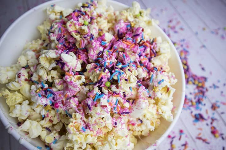 Fairy Dust Popcorns