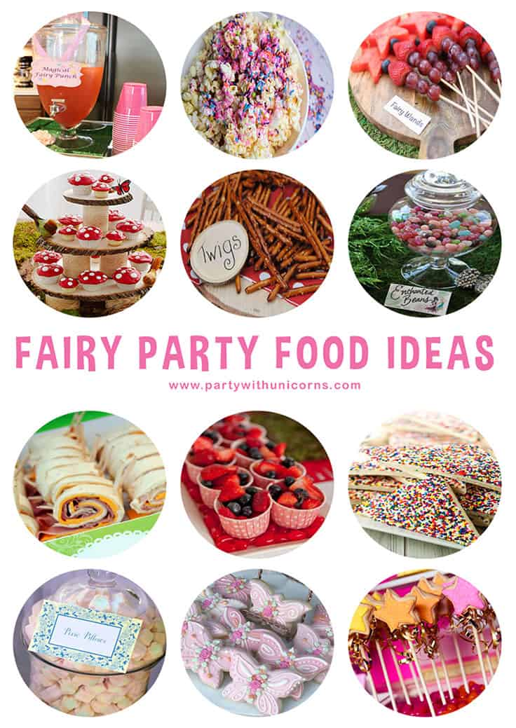 Fairy Party Food Pinterest Tile
