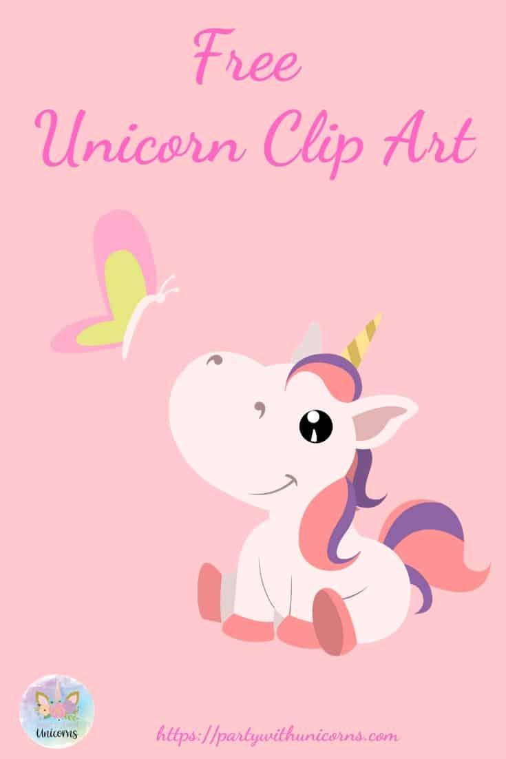 Free Unicorn Clipart