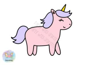 Purple Unicorns PNG