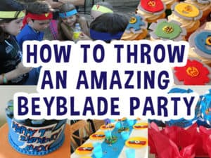 How To Throw A Beyblade Party Featured Image