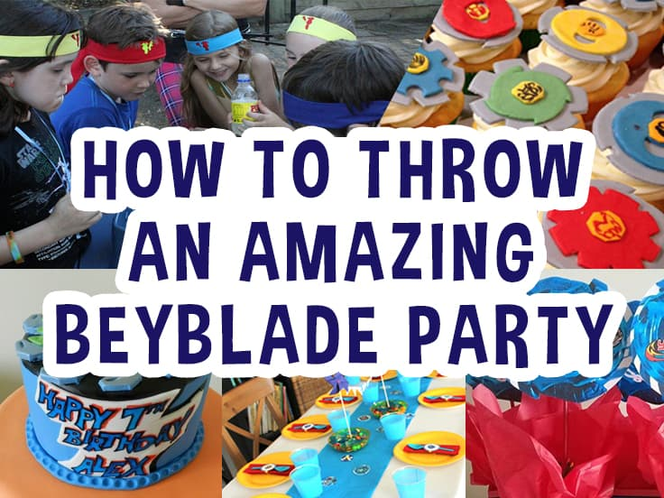 16 Super Fun Beyblade Birthday Party Ideas