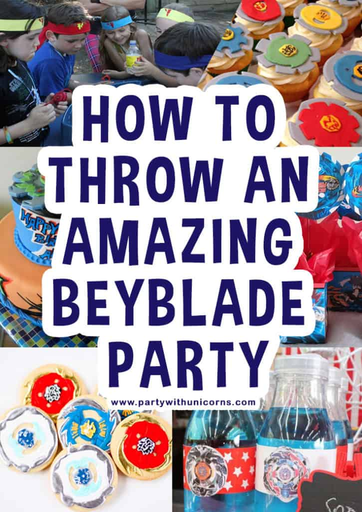 How To Throw A Beyblade Birthday Party