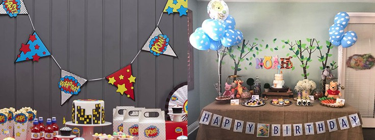Party Buntings Sample
