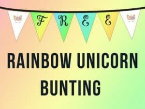Unicorn Bunting