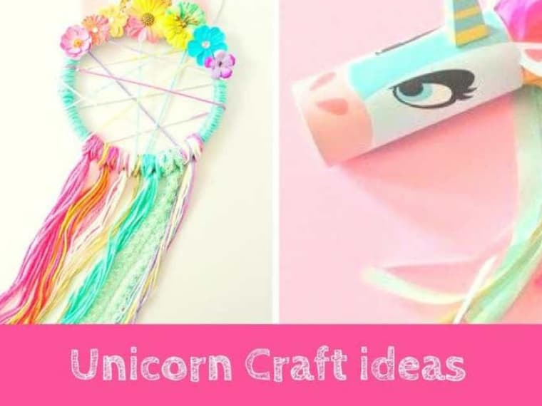 Unicorn Crafts with Templates