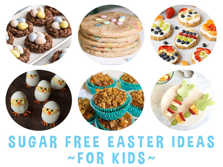 Sugar Free Easter Ideas for Kids Featured Image