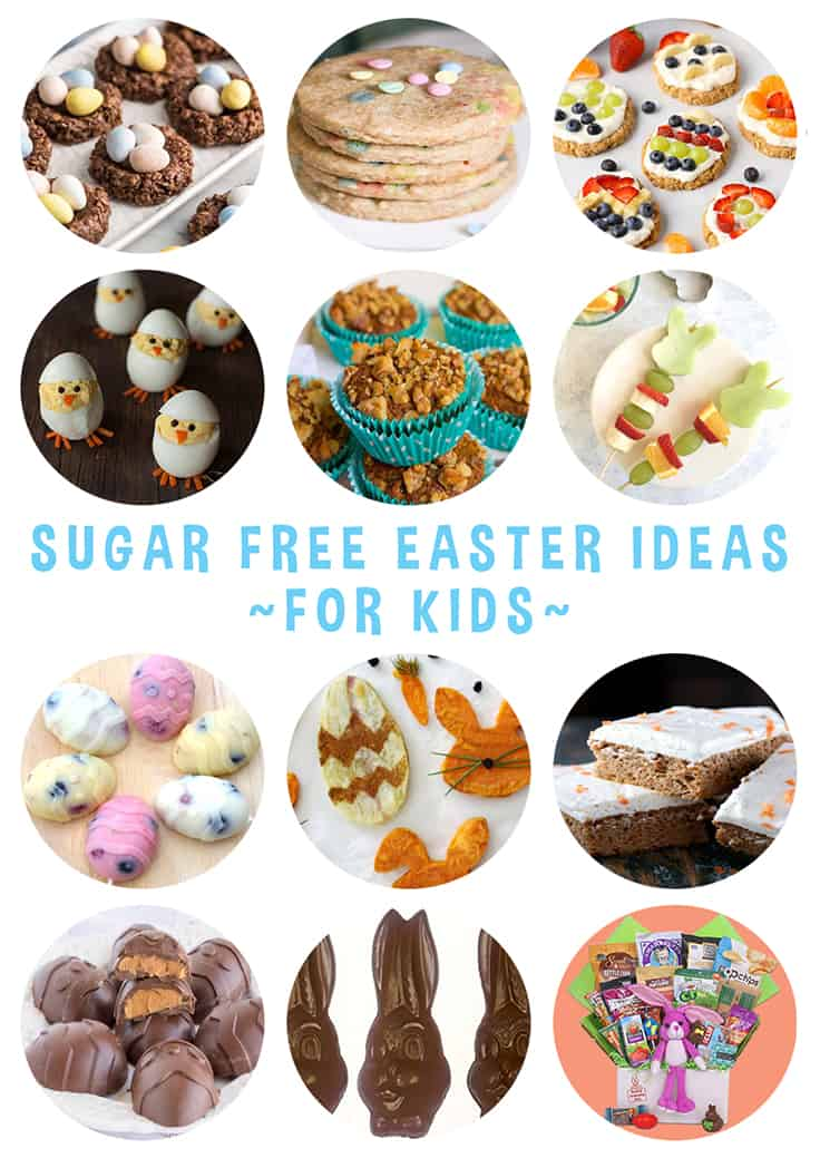 Sugar Free Easter Ideas for kids pinterest tile