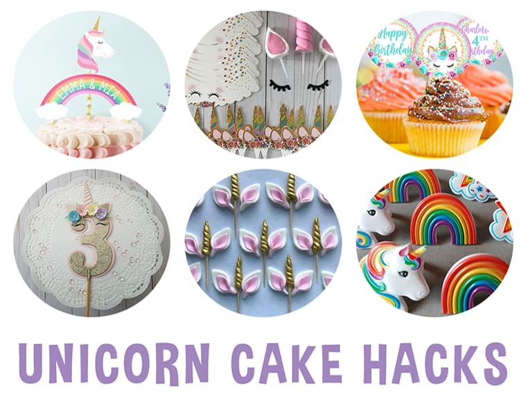 Unicorn Cake Hacks Featured Photo