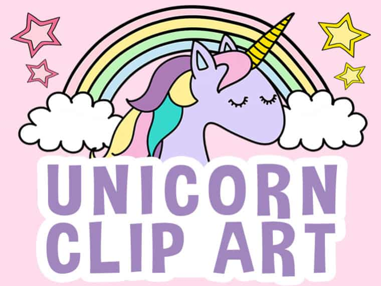 Unicorn Clip Art Featured Image