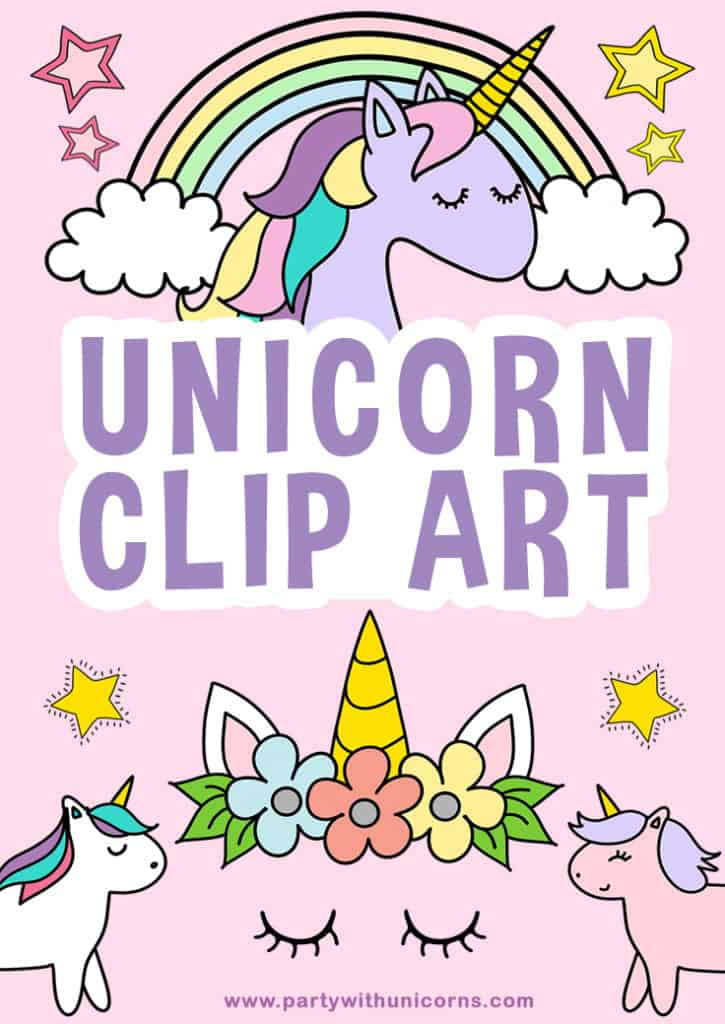 Unicorn Clip Art Pinterest Tile