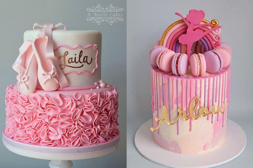Ballerina Party Cake Ideas
