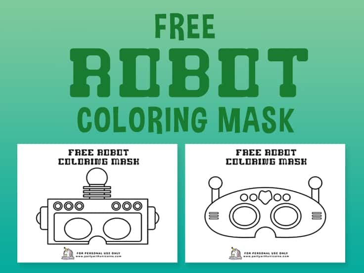 Robot Coloring Mask Featured Image