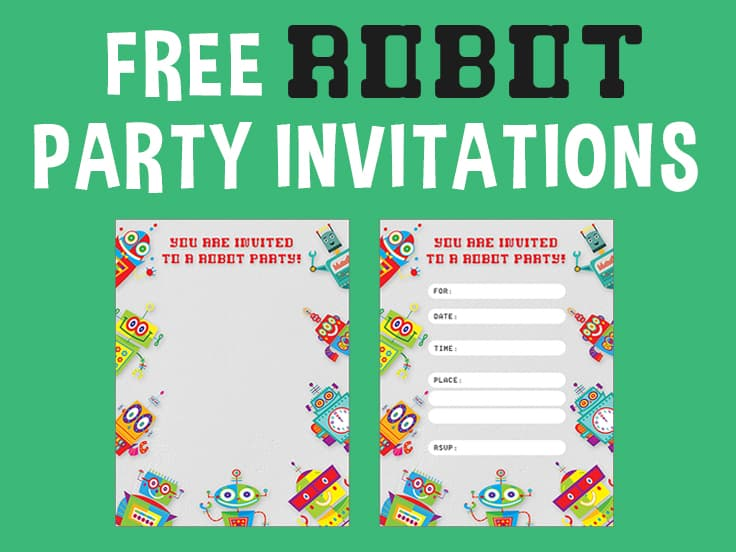 Robot Invitation Featured Image