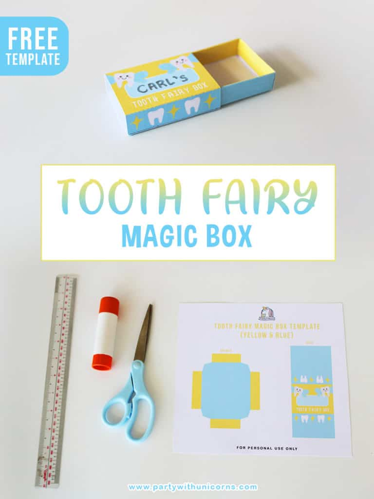 Tooth Fairy Magic Box