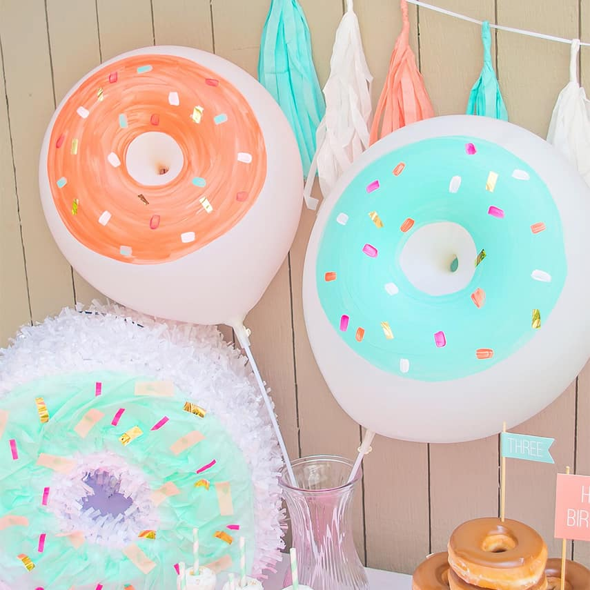 DIY Donut Balloon