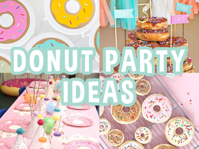Donut Birthday Party ideas