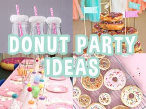 Donut Party Ideas Featured Image