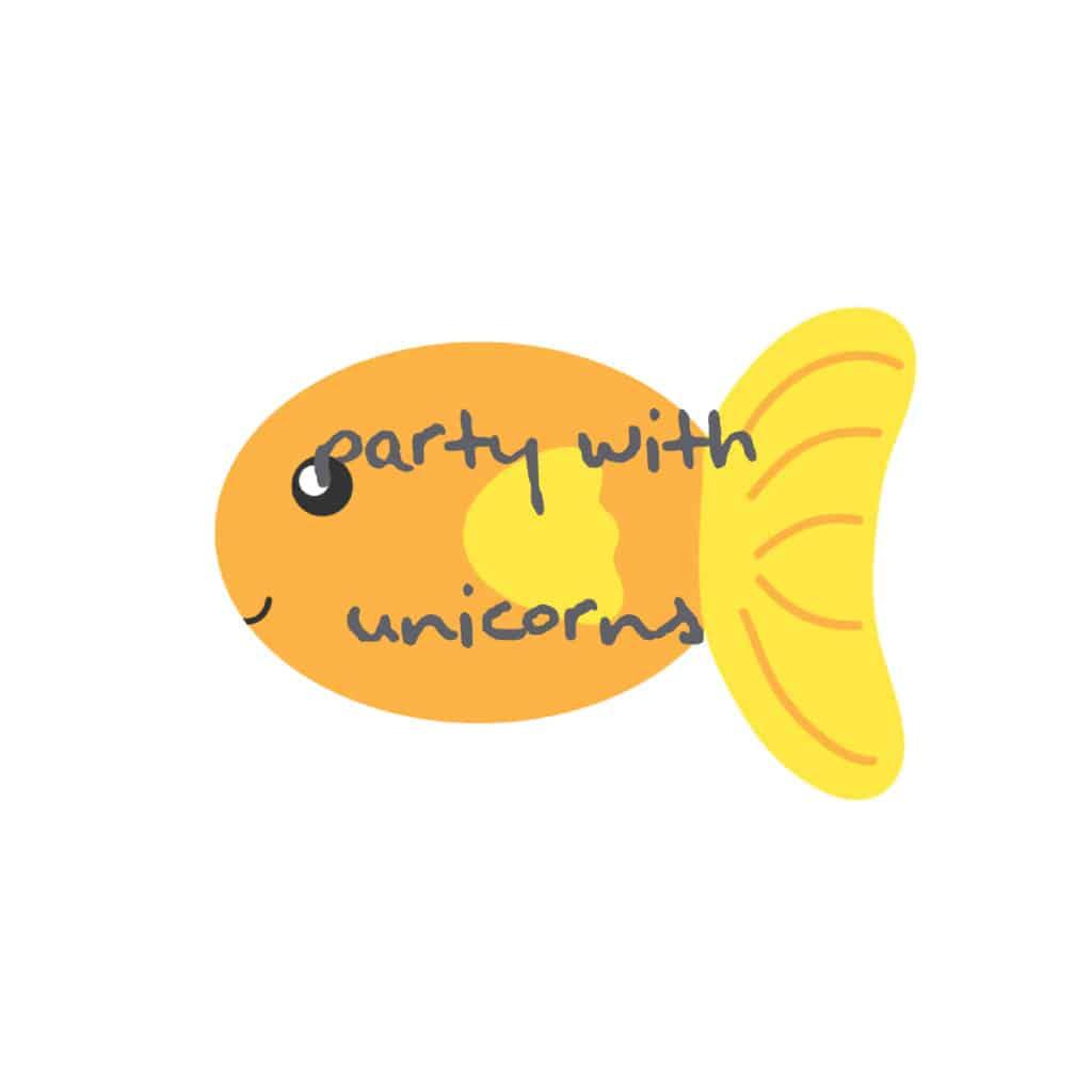 Free Yellow Fish Clip Art