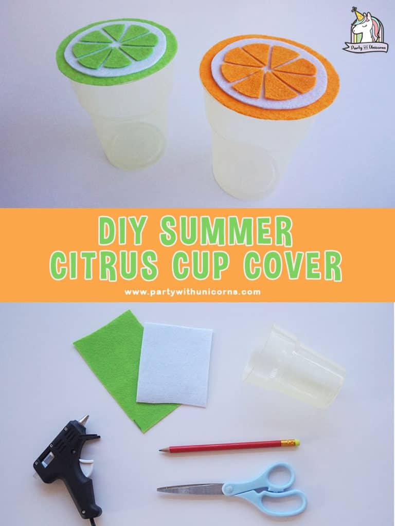 DIY Felt Cup Covers