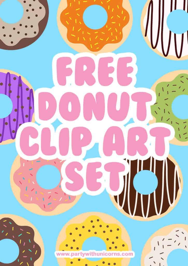 Donut Clip Art Set