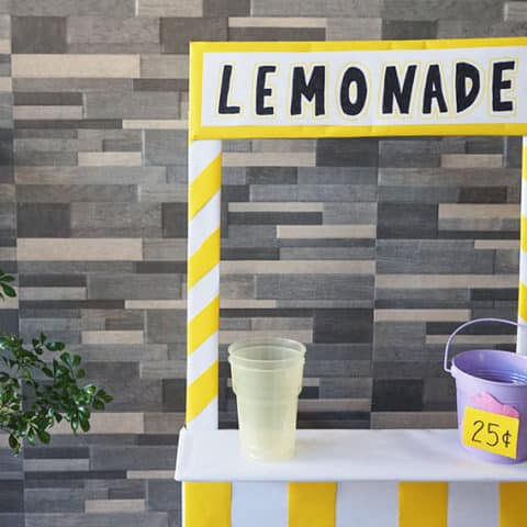 Lemonade Stand Finished Craft