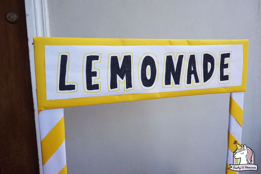 Lemonade Stand Step 10