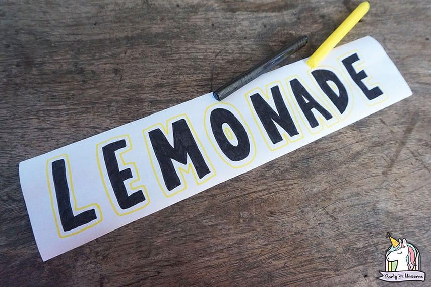 Lemonade Stand Step 8