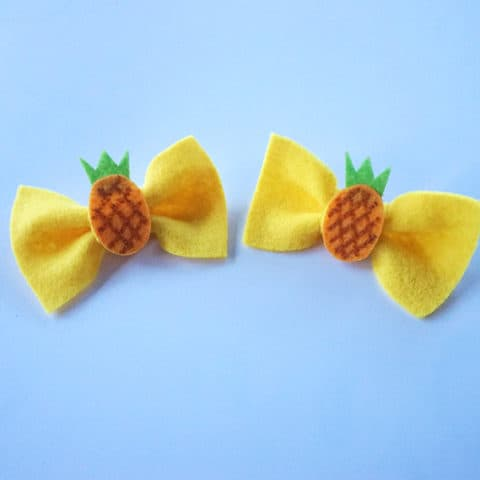 Pineapple Bows