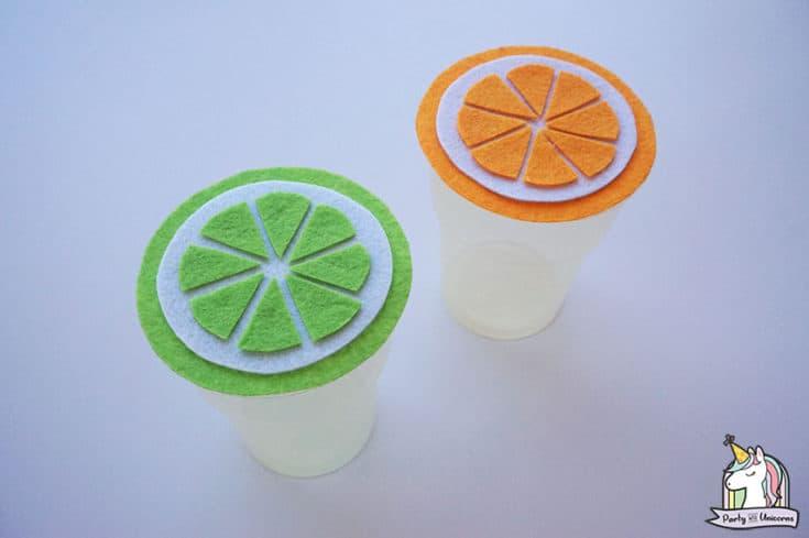 DIY Summer Citrus Cup Cover