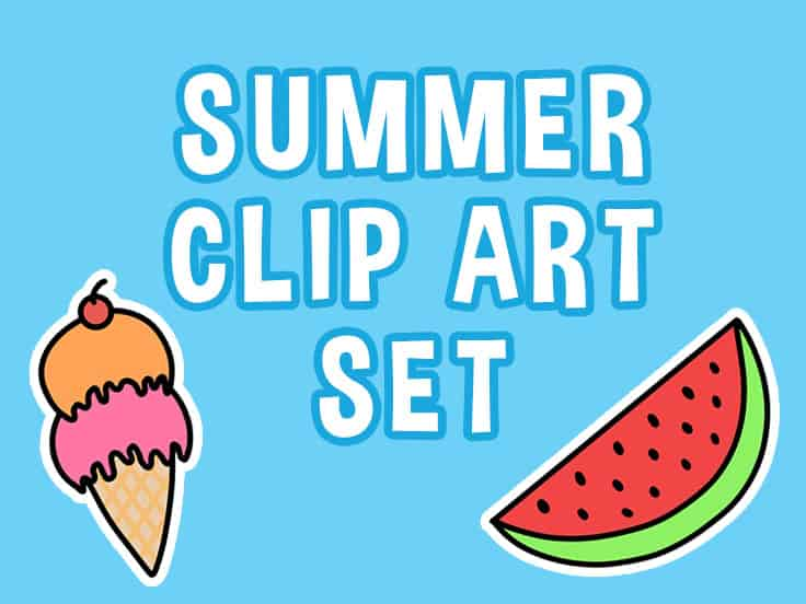 Summer Clip Art Featured Image