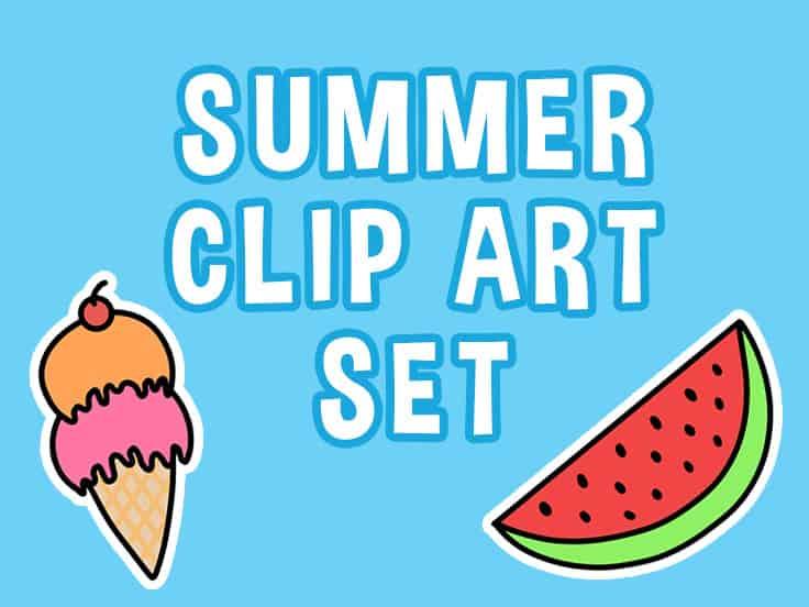 Summer Clip Art Featured Image
