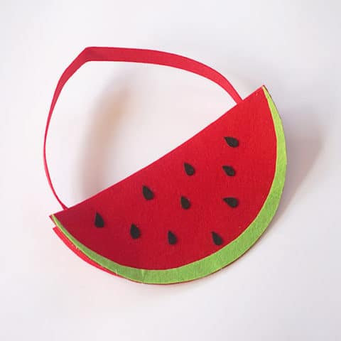 DIY Watermelon Handbag for Kids