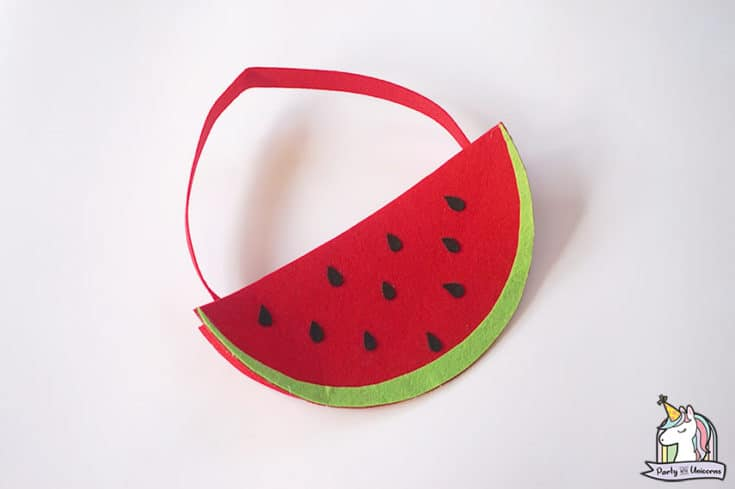 DIY Watermelon Handbag for Kids