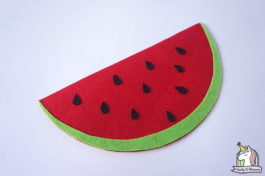 Watermelon Handbag Step 7