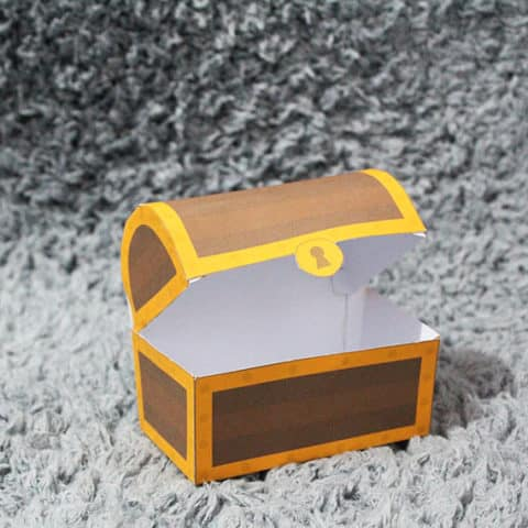 Pirate Chest Favor Box