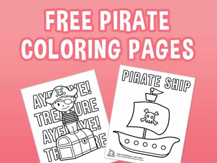 Pirate Coloring Pages - Free Download