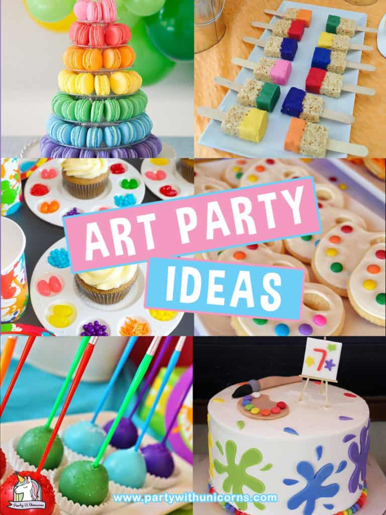 Art party Ideas