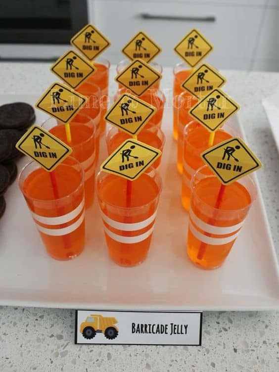 Barricade Jelly Cones