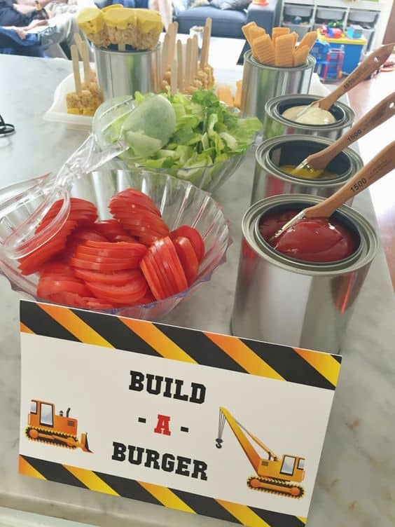 Build-A-Burger Station