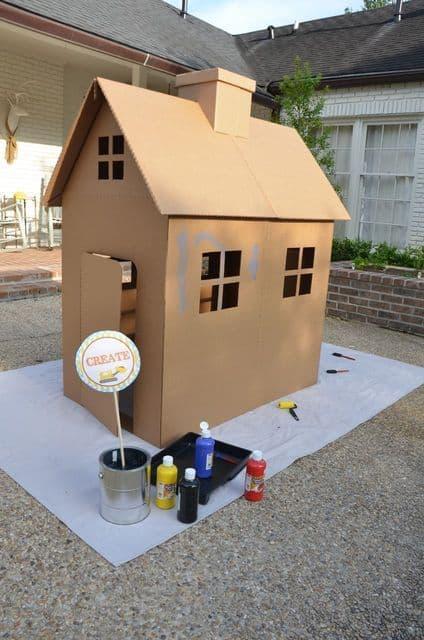 Build-a-house Activity