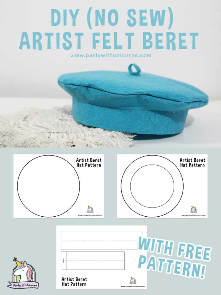 No Sew Diy Beret Craft