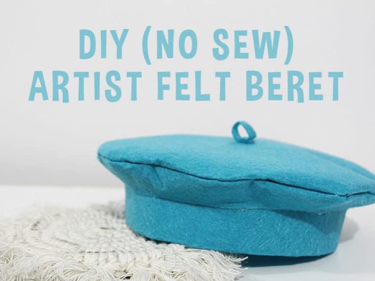 No Sew DIY Beret Craft