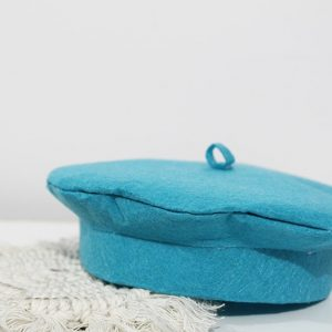DIY Artist Beret Hat Finished Craft