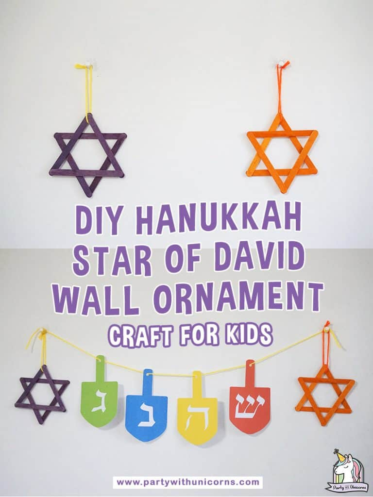 Hanukkah star of David Craft