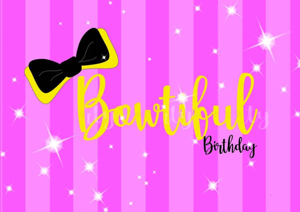 Printable Emma Wiggle Birthday Custom Welcome Print First 1st Birthday Party