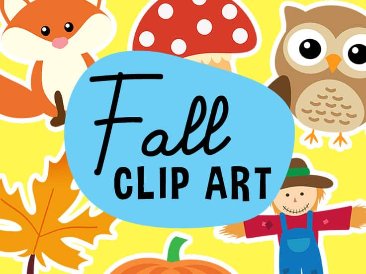 Fall Clipart Set Free Download