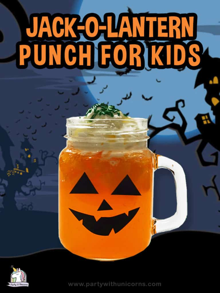 Halloween Punch for kids Recipe