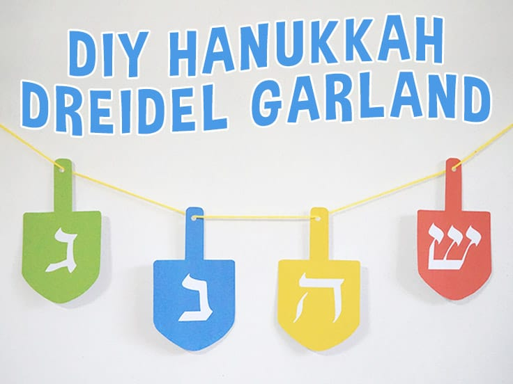 Hanukkah Dreidel Craft
