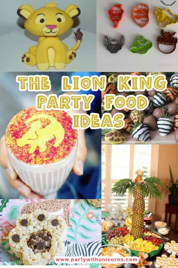 lion king party food Ideas